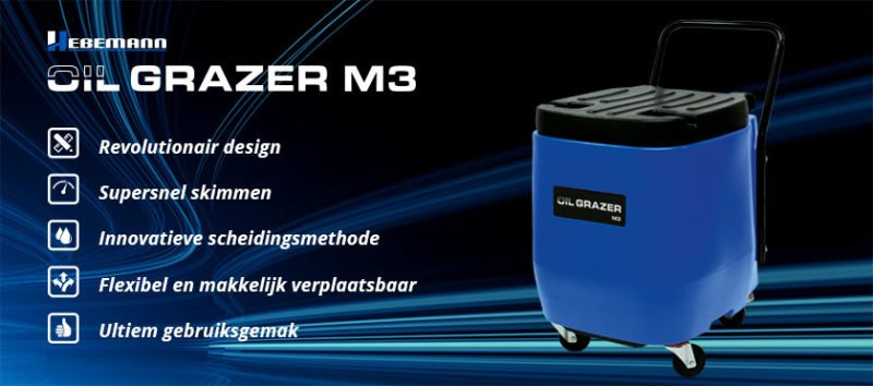 Nieuw: Oil Grazer M3 - Geen excuses meer, perfect onderhouden koelsmeermiddel - nieuw oil grazer m3 intro 800x354